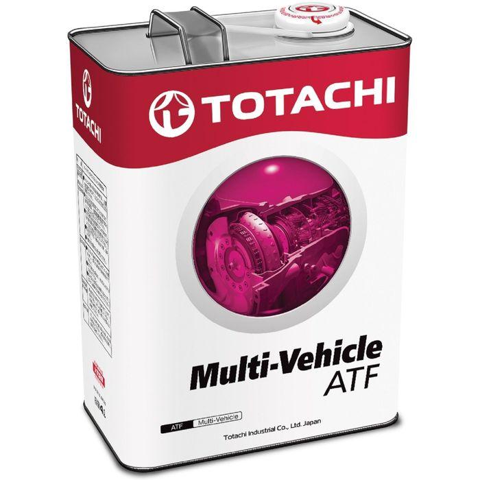 Трансмиссионная жидкость Totachi ATF MULTI-VEHICLE, 4 л
