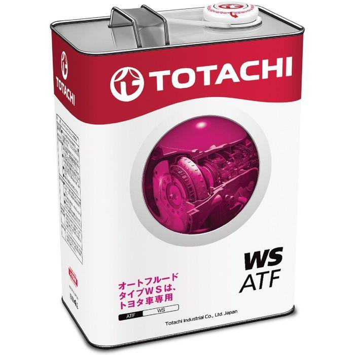 Трансмиссионная жидкость Totachi ATF WS, 4 л