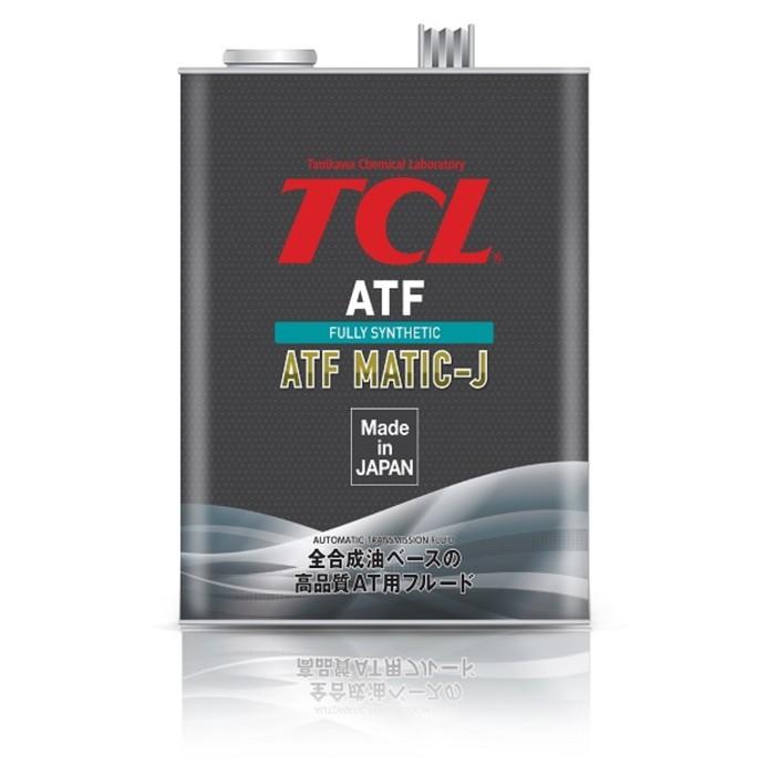 Жидкость для АКПП TCL ATF MATIC J, 4л
