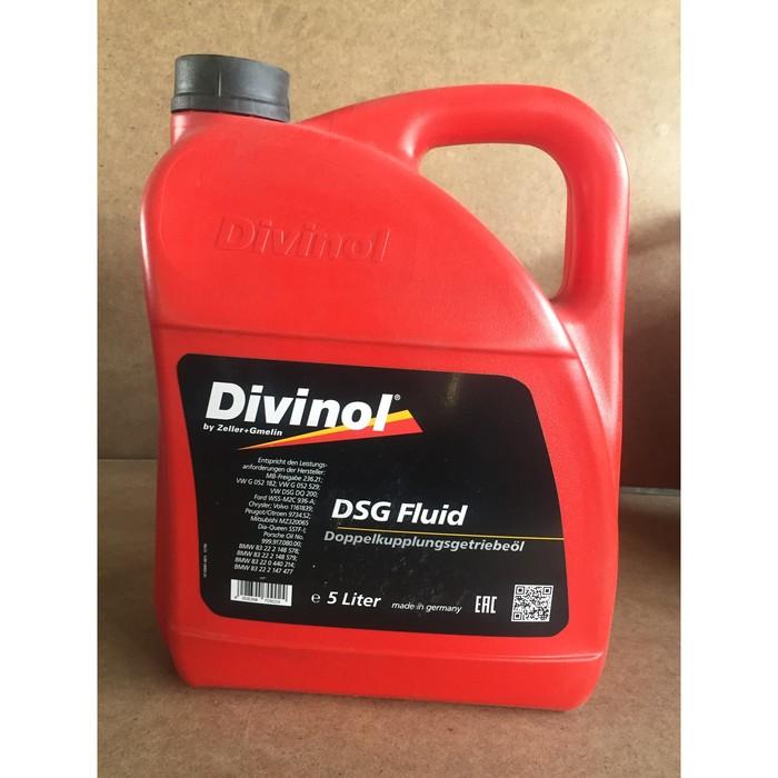 Масло трансмиссионное DIVINOL DSG Fluid, 5 л