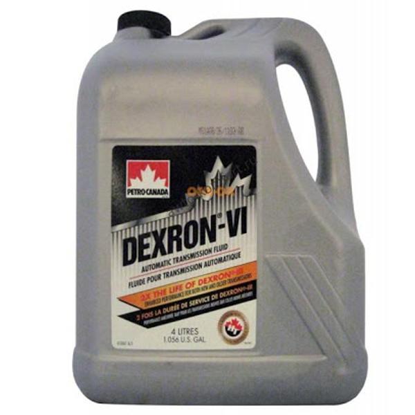 Трансмиссионное масло Petro-Canada Dexron-VI ATF 4л.