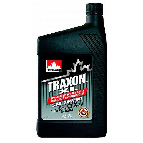 Трансмиссионное масло Petro-Canada Traxon XL Synthetic bland SAE 75w90 1л
