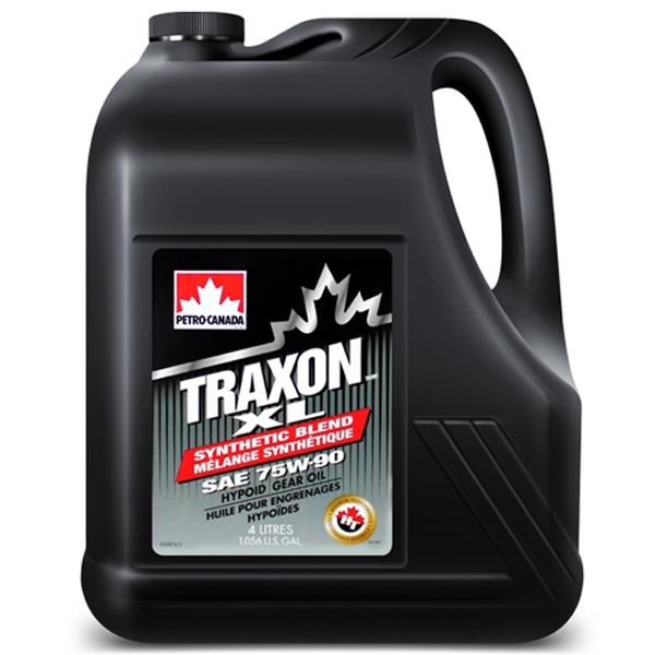 Трансмиссионное масло Petro-Canada Traxon XL Synthetic bland SAE 75w90 4л.