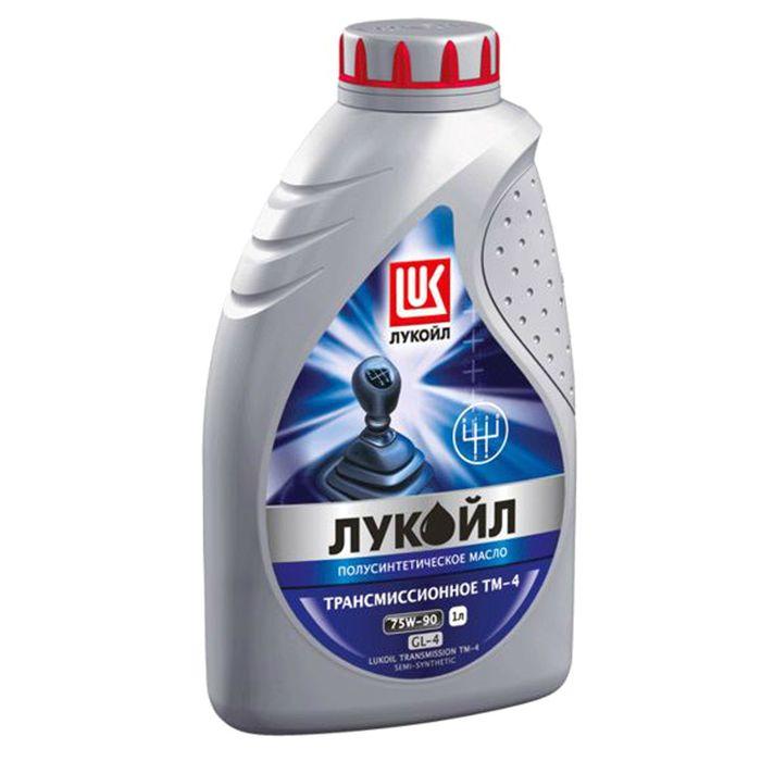 Масло трансмиссионное Лукойл ТМ-4 75W-90 GL-4, 1 л
