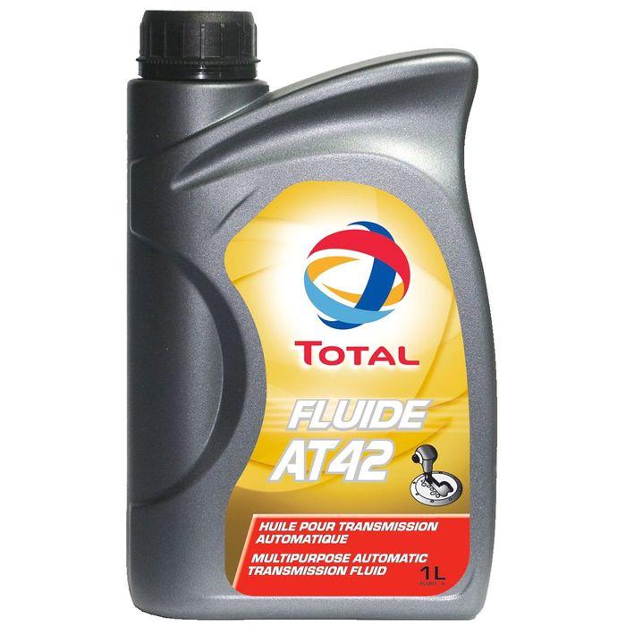 Масло трансмиссионное Total Fluide AT 42, 1 л