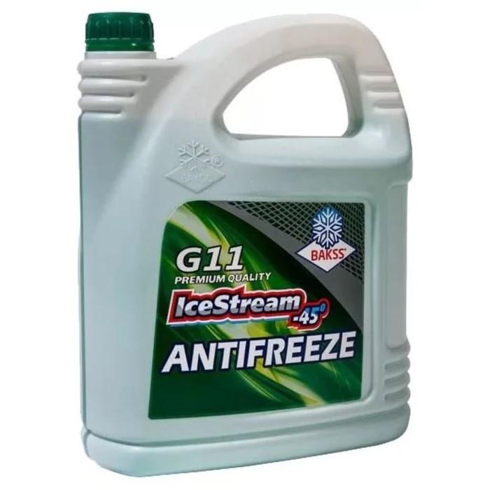Антифриз ICE STREAM G11, зеленый, 5 кг