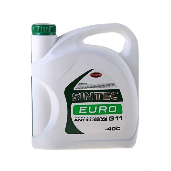 Антифриз SINTEC EURO зеленый, 3кг