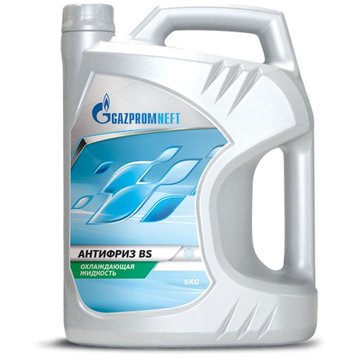 Антифриз Gazpromneft BS -40 зелёный, 5 кг