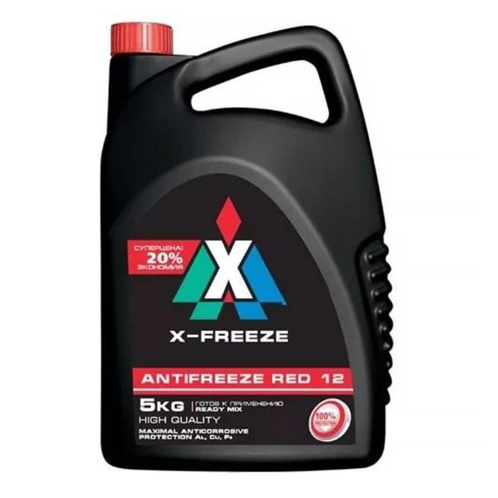 Антифриз X-Freeze Red, 5 кг