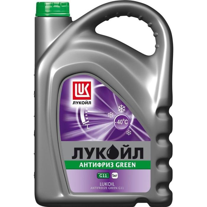 Антифриз Лукойл G11 Green, 5 кг