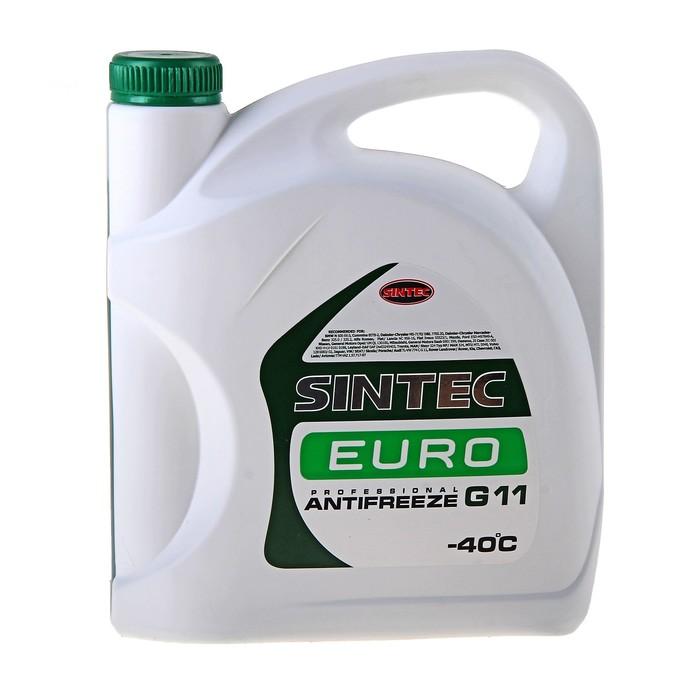 Антифриз SINTEC EURO зелёный, 5 кг