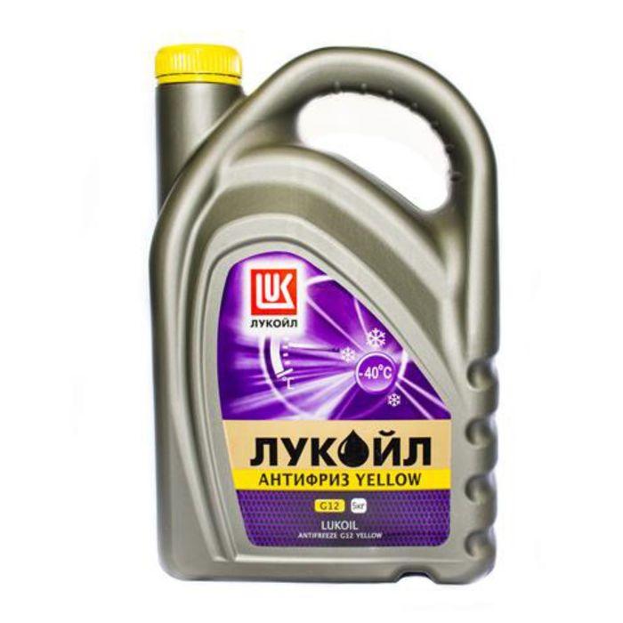 Антифриз Лукойл G12 Yellow, 5 кг