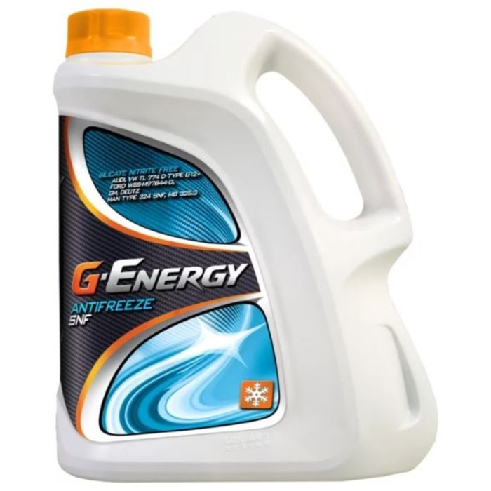 Антифриз G-Energy SNF 40 красный, 5 кг