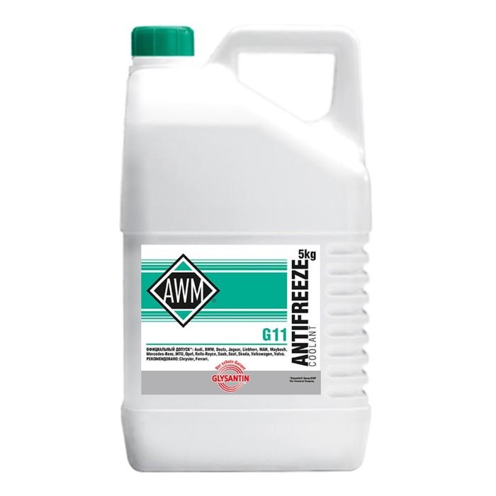 BASF Антифриз AWM11/ Glysantin G 48 Ready Mix, 5 кг