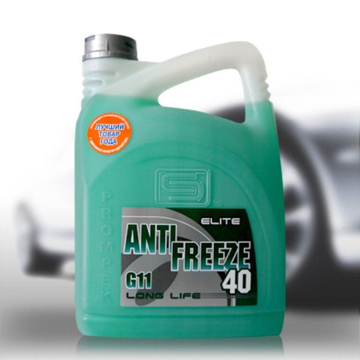 """Антифриз """"Промпэк"""" 40 Elite G11, зеленый, 10 кг"""