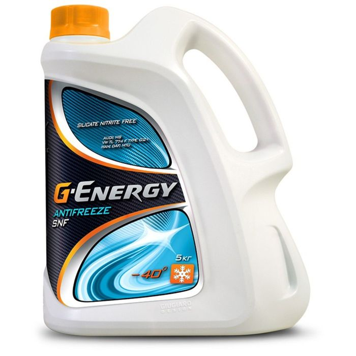 Антифриз G-Energy, 5 кг