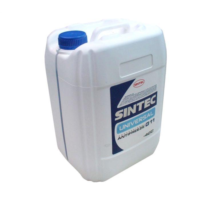 Антифриз SINTEC UNIVERSAL синий, 10 кг