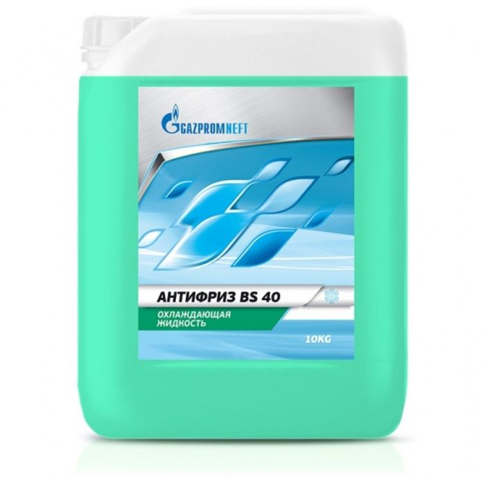Антифриз Gazpromneft BS -40 зелёный, 10 кг