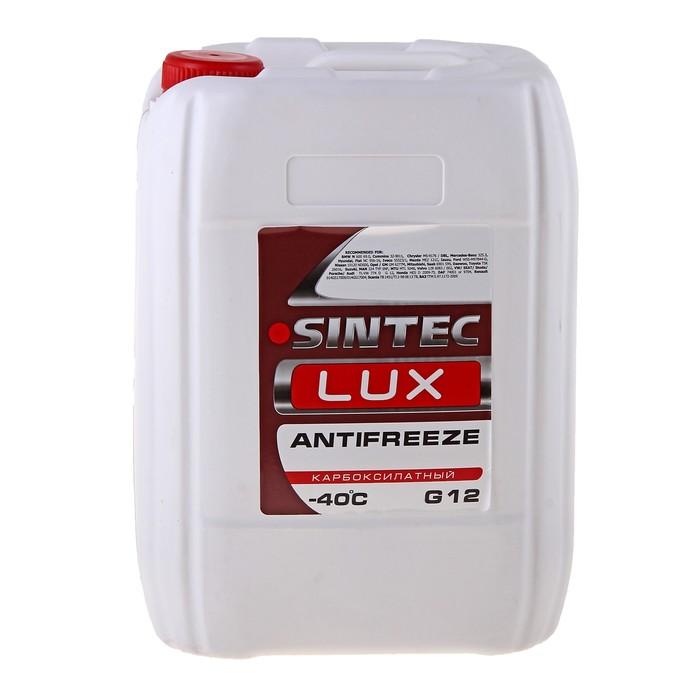 Антифриз SINTEC LUX красный, 10 кг