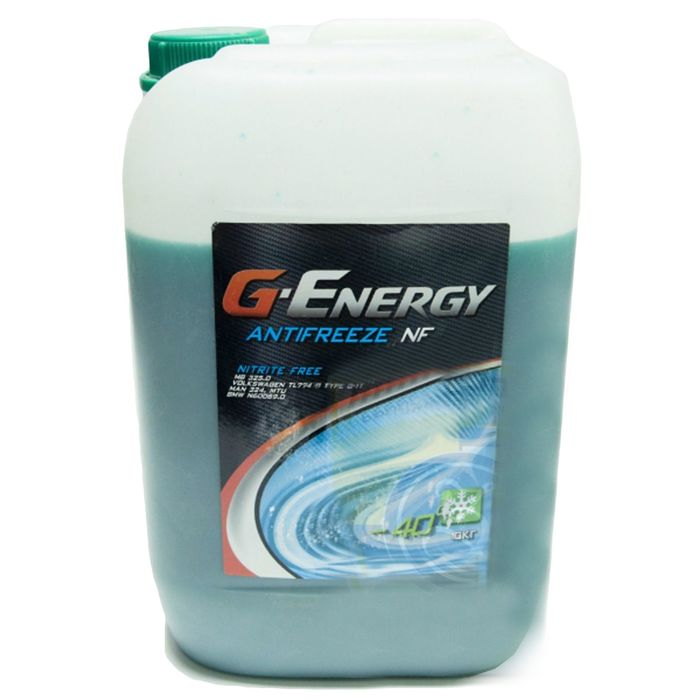 Антифриз G-Energy NF 40 зелёный, 10 кг