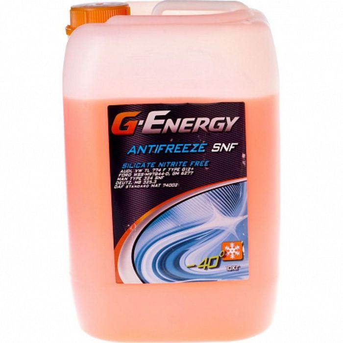 Антифриз G-Energy SNF 40 красный, 10 кг
