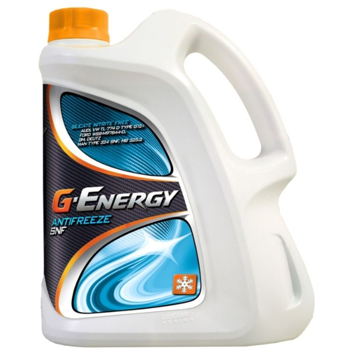 Антифриз G-Energy SNF концентрированный, красный, 5 кг