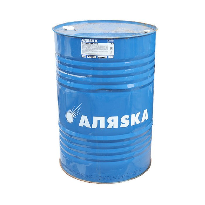 Антифриз Аляска G11, красный, 210 кг