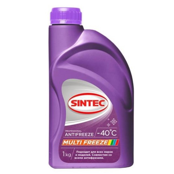 Антифриз Sintec Antifreeze Multifreeze 1кг