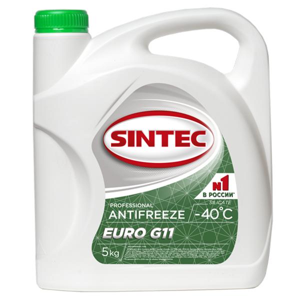 Антифриз Sintec Euro G11 5кг