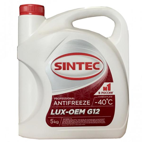 Антифриз Sintec Lux G12 5кг
