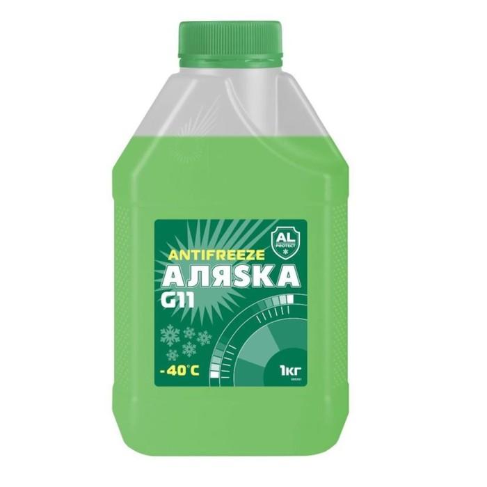 Антифриз Аляска G11, зеленый, 1 кг