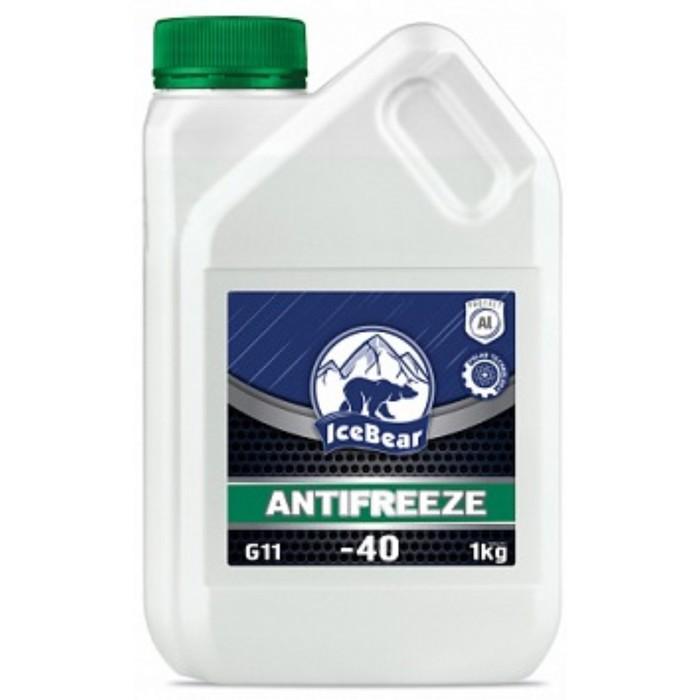 Антифриз IceBear, зеленый, 1 кг