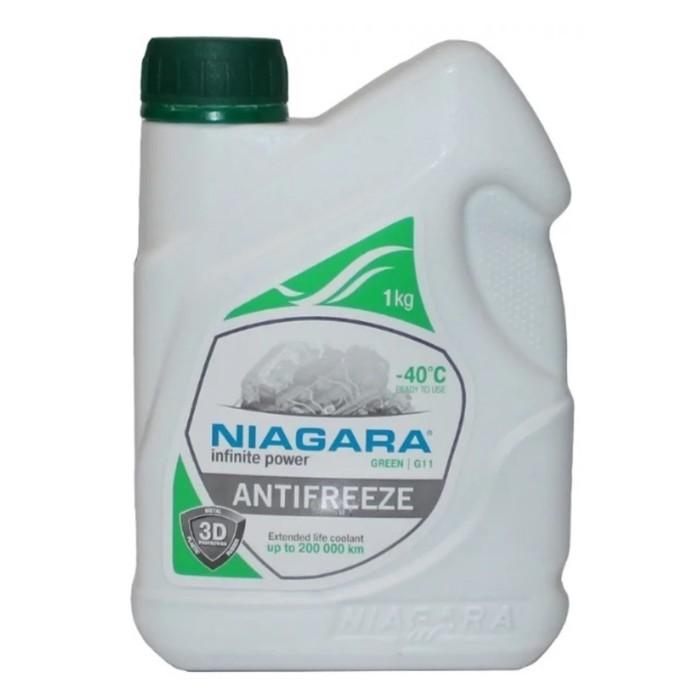 Антифриз Ниагара G11, зеленый, 1 кг