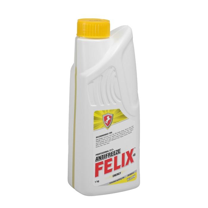 Антифриз FELIX Energy-45, желтый, 1 л
