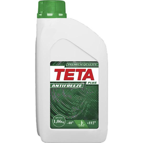 Антифриз Teta Plus 1 кг зеленый
