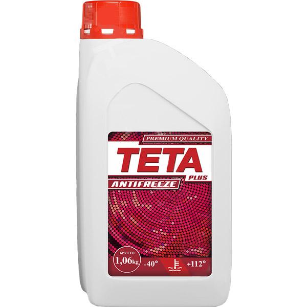 Антифриз Teta Plus 1 кг красный