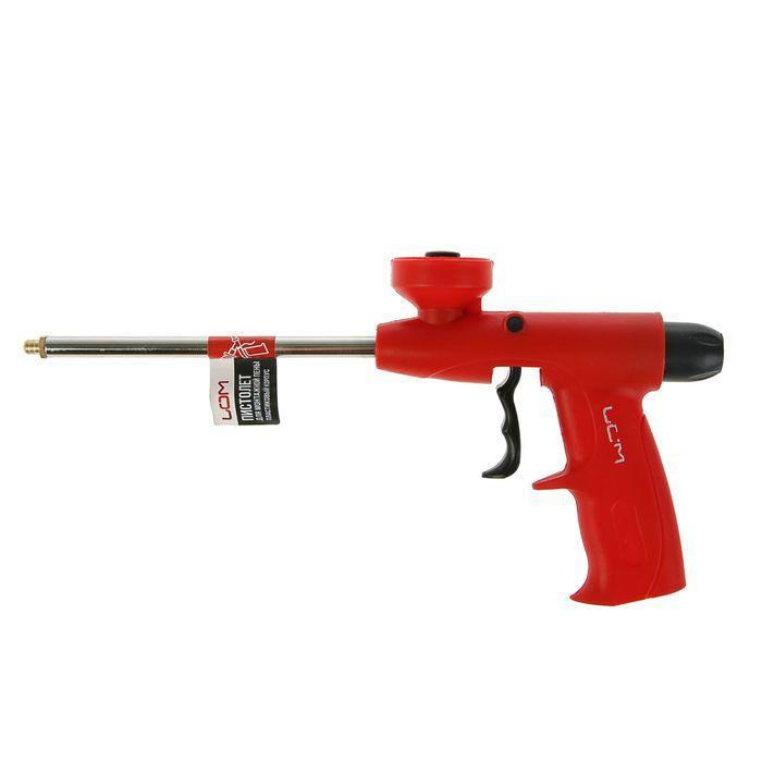 Пистолет для монтажной пены, LOM, пластиковый корпус