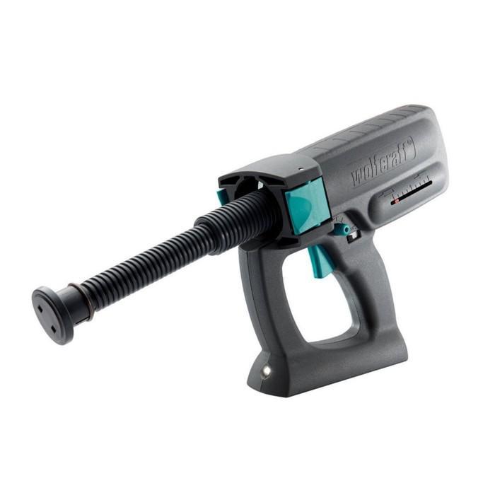 Электронный пистолет для герметика Wolfcraft 4350000, LED - свет, для туб объемом 310 мл