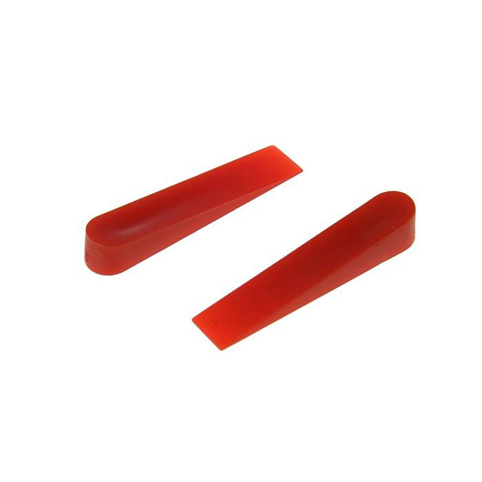Клинья для кладки плитки TUNDRA basic, 30x6x5 мм, в упаковке 100 шт