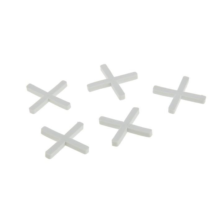 """Крестики для кладки плитки """"СИБРТЕХ"""", 2.5 мм, в упаковке 100 штук"""
