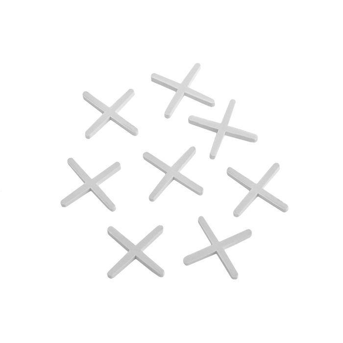 Крестики для кладки плитки LOM, 2.0 мм, в упаковке 100 шт