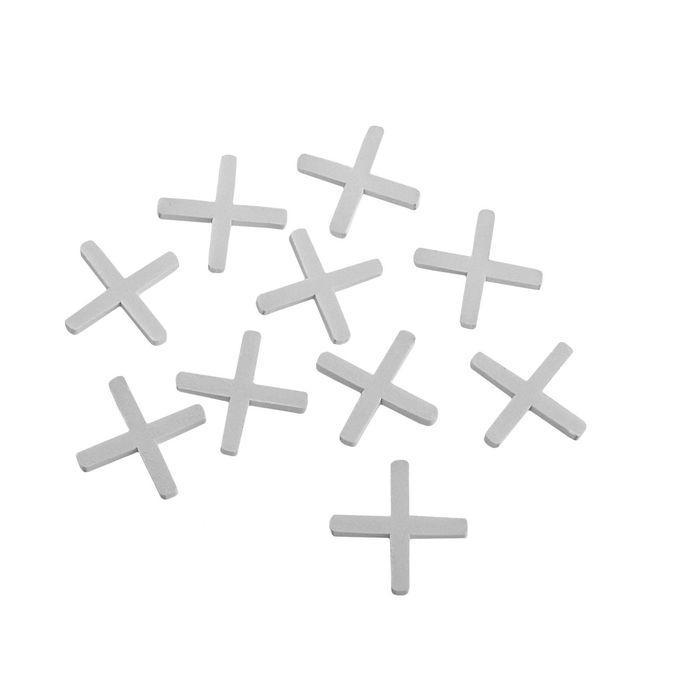 Крестики для кладки плитки LOM, 3.0 мм, в упаковке 80 шт