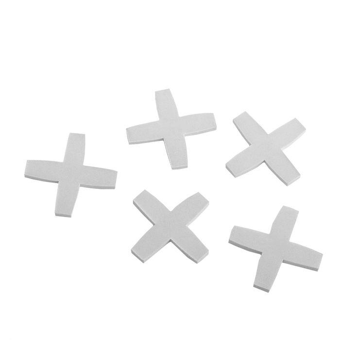 Крестики для кладки плитки LOM, 6.0 мм, в упаковке 75 шт
