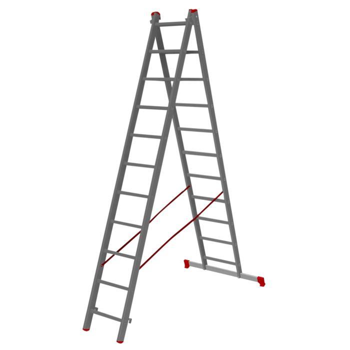 Лестница-стремянка двухсекционная Halta 2х11