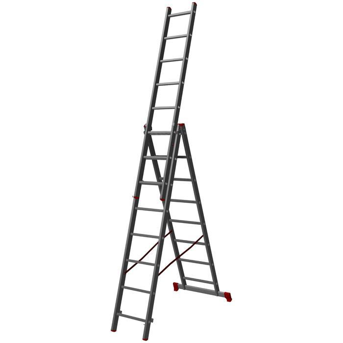 Лестница трехсекционная Halta PRO 3х8