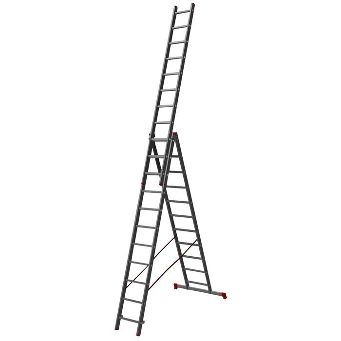 Лестница трехсекционная Halta 3х11