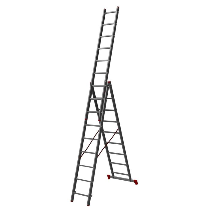 Лестница трехсекционная Halta PRO 3х9