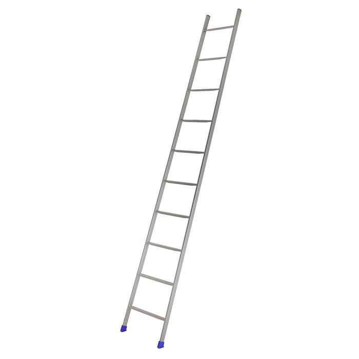 Лестница приставная Nika Л10, 10 ступеней, 2.45 м