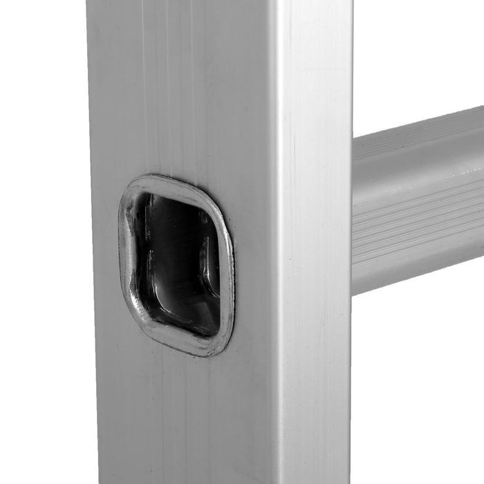 Лестница-трансформер TUNDRA comfort, 4х5 ступеней, алюминиевая
