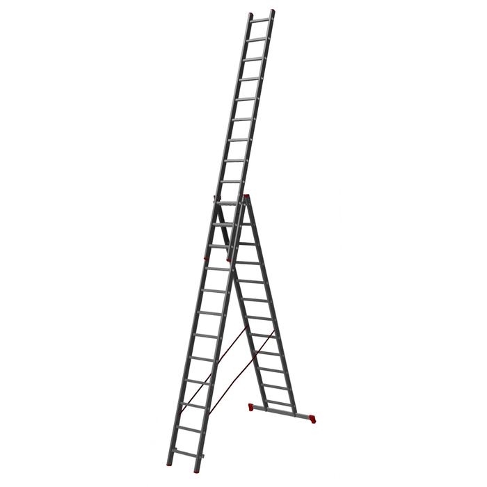 Лестница трехсекционная Halta PRO 3х12